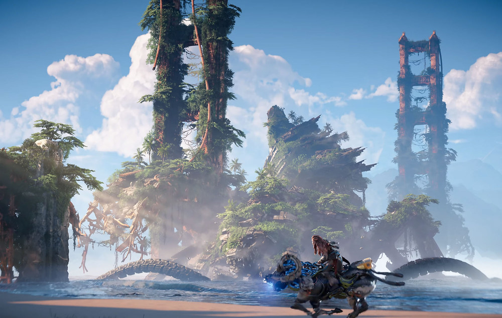 Horizon Forbidden West *might* be the most beautiful game I've ever seen.