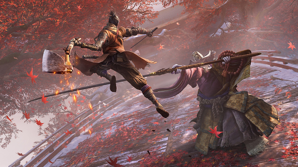 Sekiro: Shadows Die Twice. The game that started the whole sorry argument...
