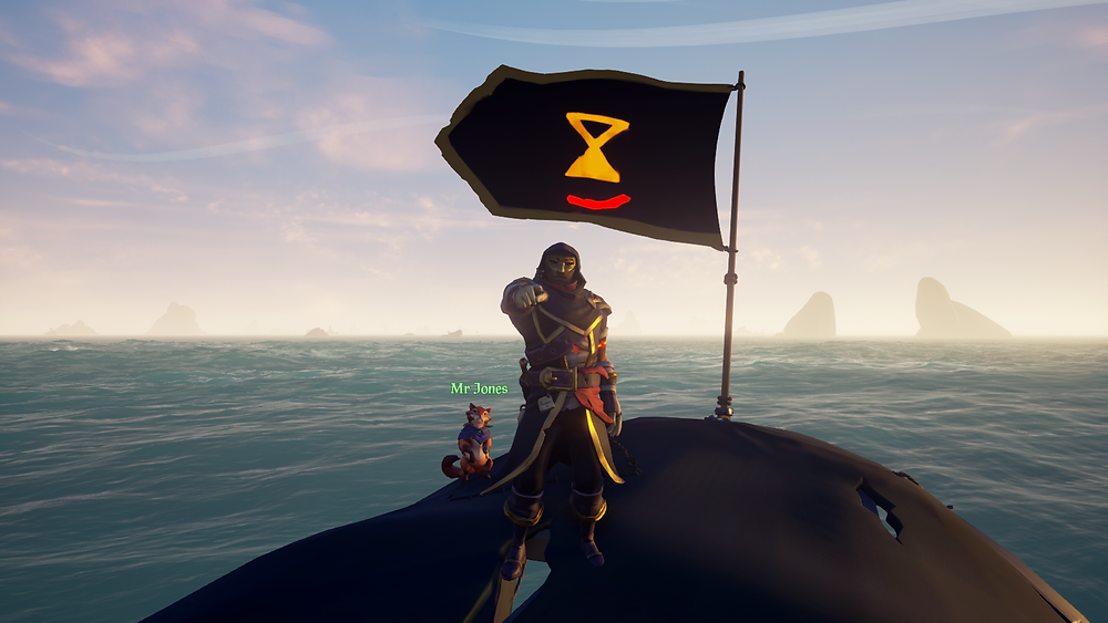 The most common outfit on the Sea of Thieves. For now.