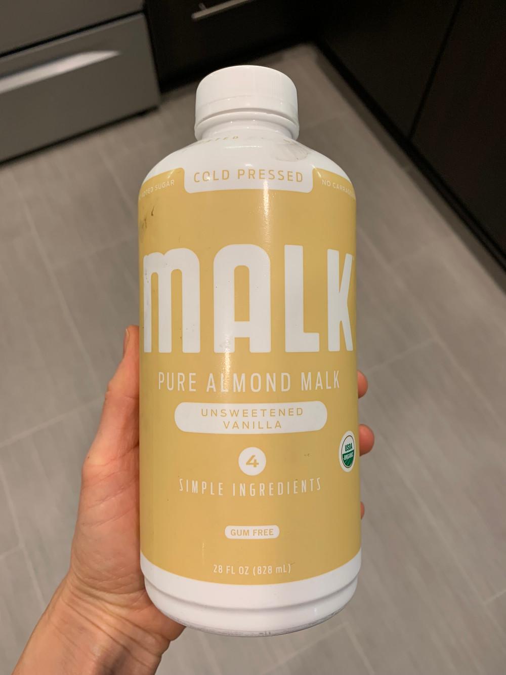 Malk almond milk