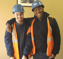 Friendship at the shipyard: Robert and Tyzeek's story