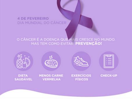 Dia Mundial do Câncer: pela prevenção!