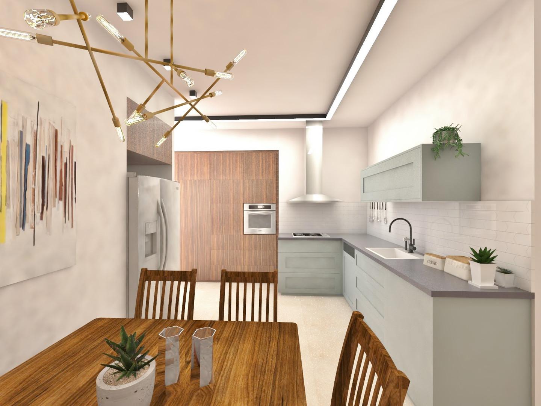 מטבח בתכנון - דירה ברעננה