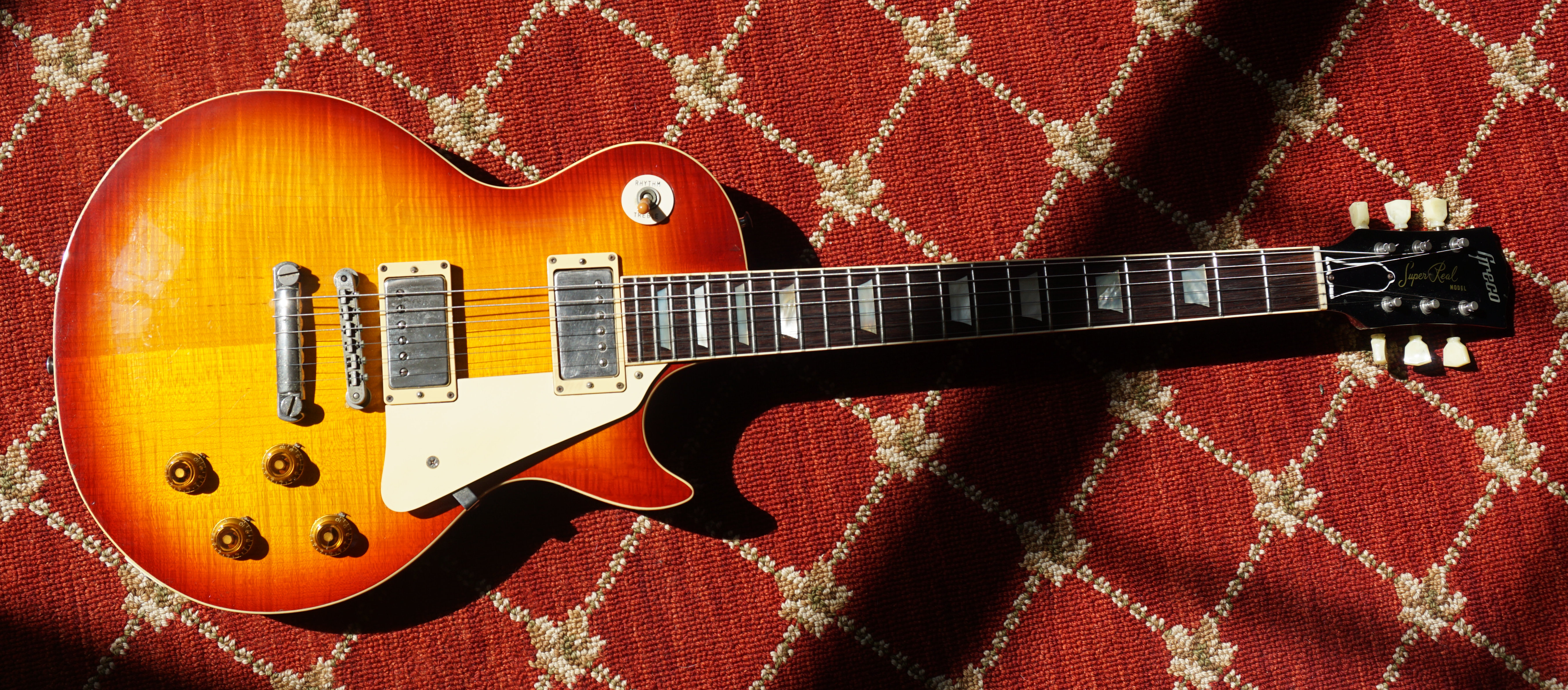 1981 Greco EGF 1800 DRY Z Solid Flame Top