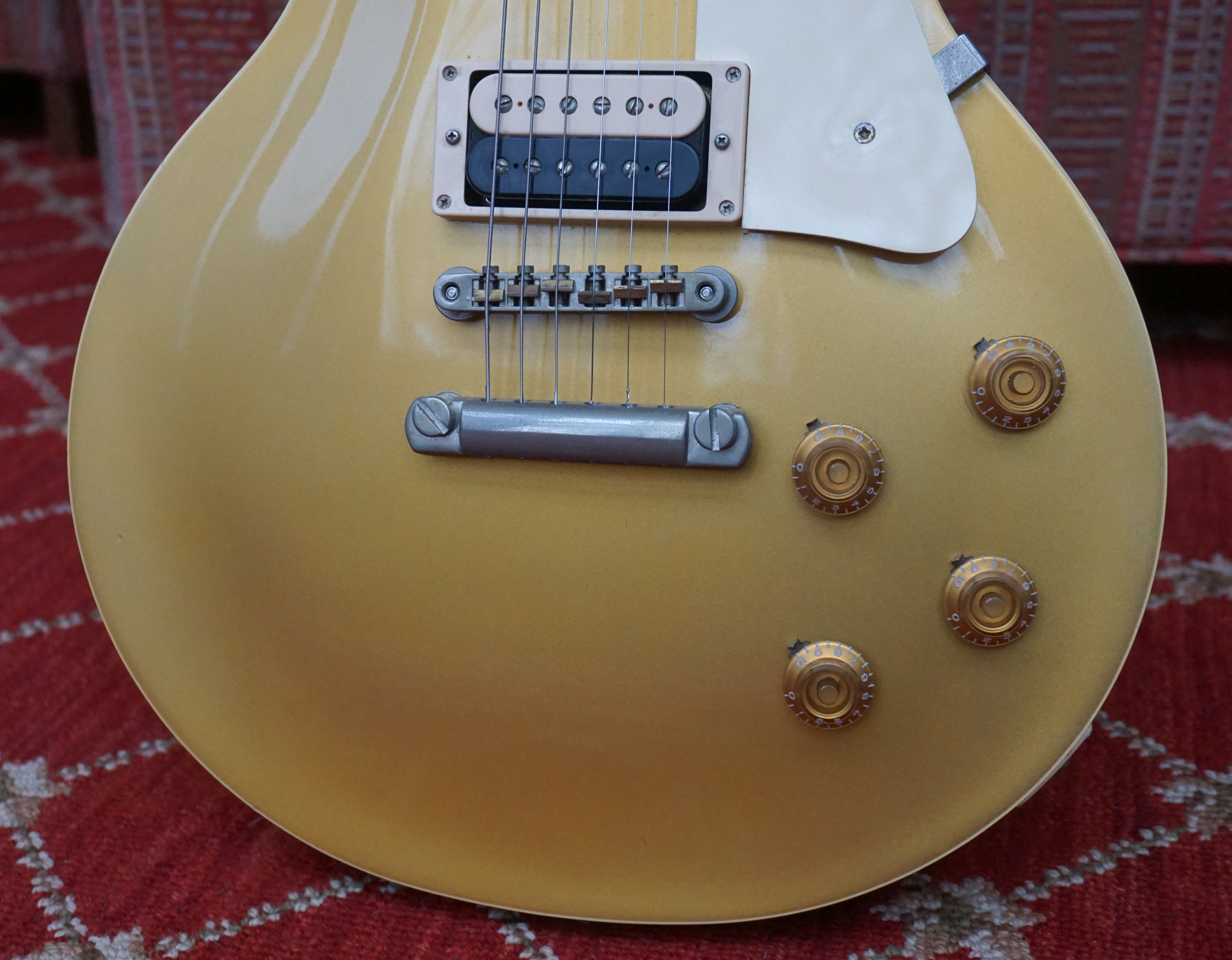 1980 Tokai LS-80 GT Gold Top