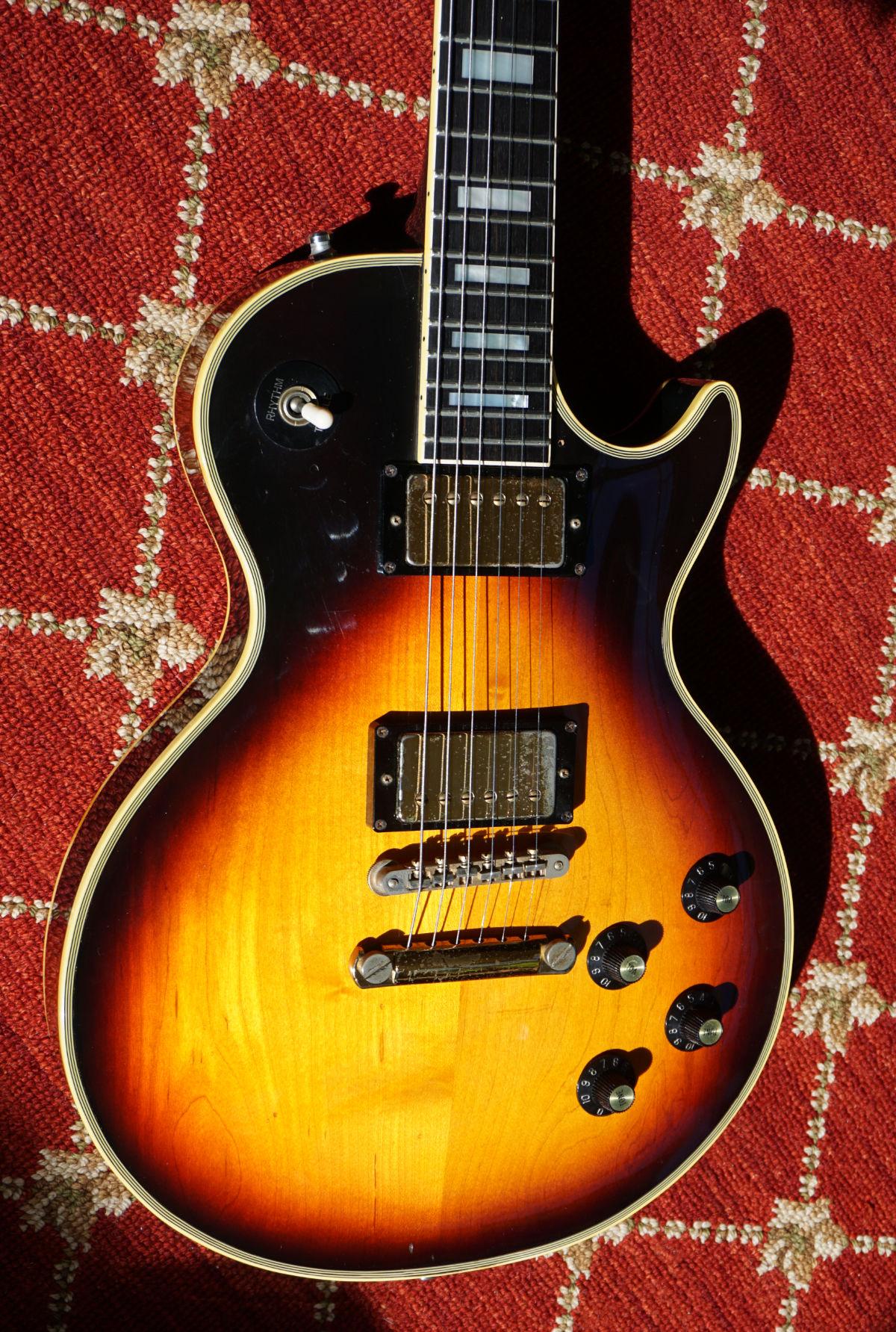 Greco EG 1000C Black Sunburst 1980