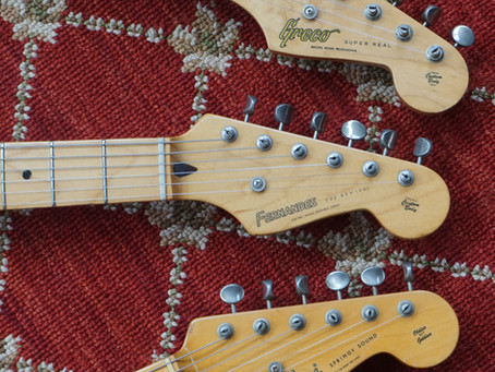 1954 Strats From Greco, Fernandes and Tokai