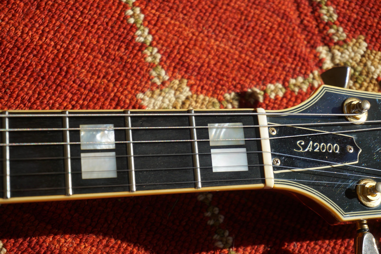 Yamaha SA 2000 Inlays