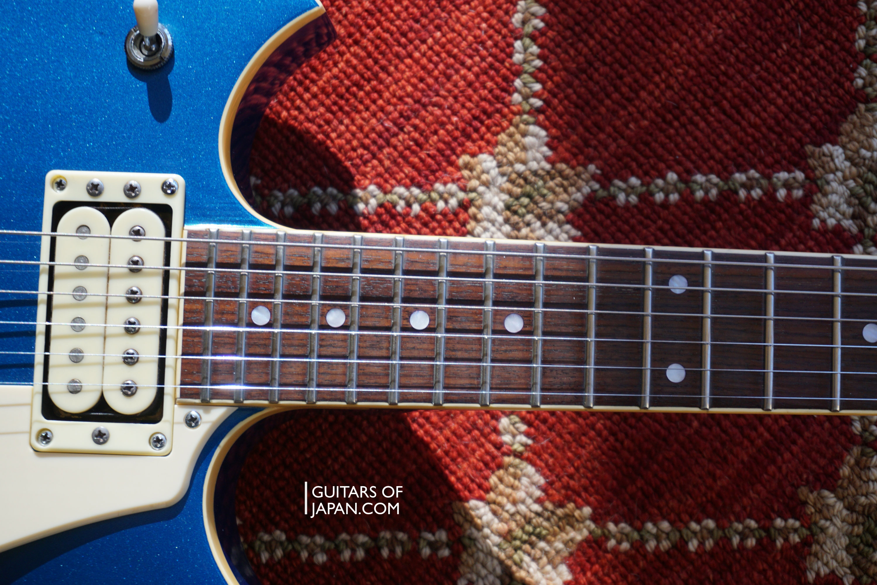 YAMAHA SG 800S Metallic Blue 1982