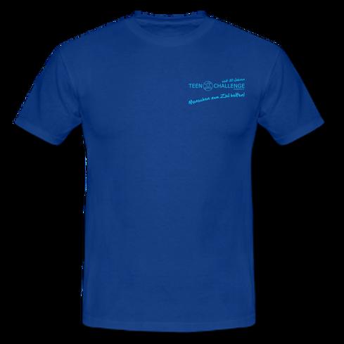 TSHIRT Royalblau TCE Logo VORNE