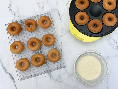 Falling Leaves & Maple Trees | Maple Spiced Vegan Doughnuts