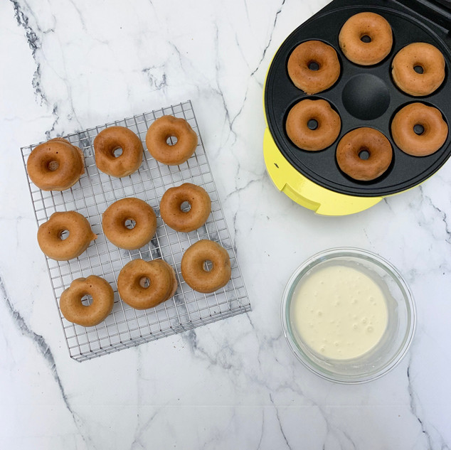 Maple Spiced Doughnuts