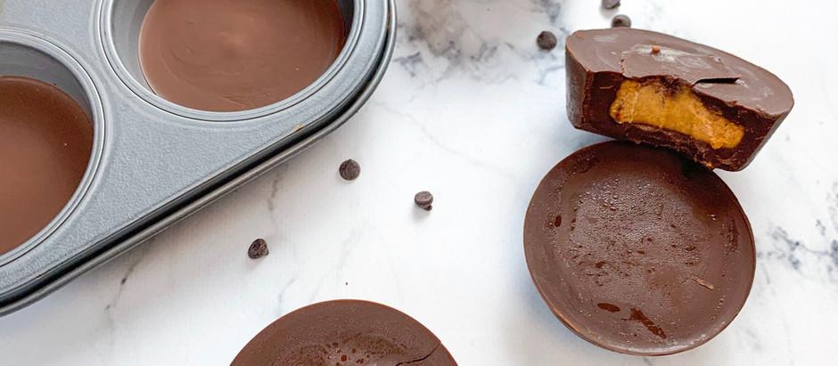 Pumpkin Chunkin' Vegan Chocolate Cups