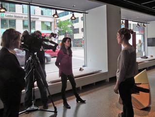 Exposition: Porte Rouge des finissants de la Maison des métiers d'art / Radio Canada