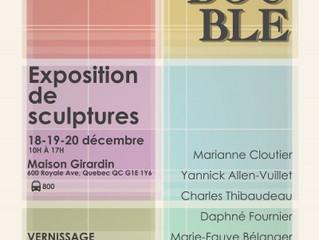 CHÂSSIS-DOUBLE   EXPOSITION DES ÉTUDIANTS EN SCULPTURE