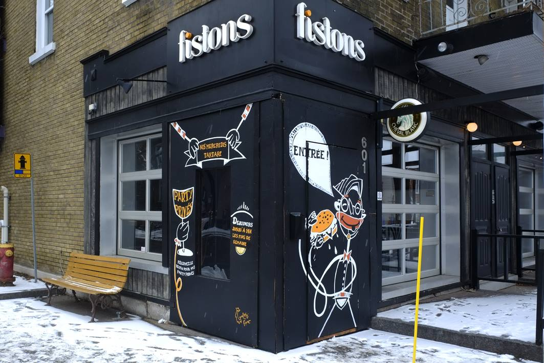 Murale chez Fistons