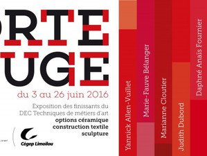 PORTE ROUGE | FINISSANTS 2016