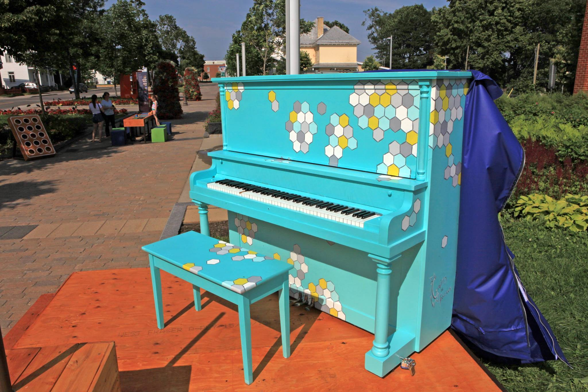 piano public Haute St-Charles