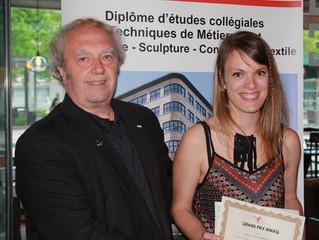 Marie-Fauve Bélanger remporte le GRAND PRIX MMAQ et 3 AUTRES PRIX