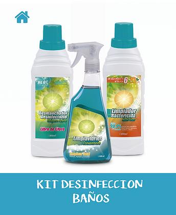KIT Desinfección BAÑOS