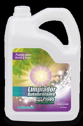 Limpiador Antibacterial Autobrillante Pisos - 1 Galón - (CAJA x 6und)