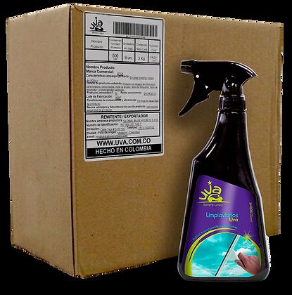 Limpiavidrios UVA 500 ml - (CAJA x 6 und)