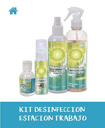 KIT Desinfección ESTACION DE TRABAJO
