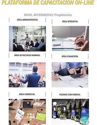 Plataforma Entrenamiento - Modulos Capac