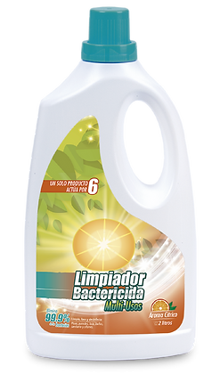 Limpiador Bactericida Multiusos - 2000ml- (CAJA x 6und)