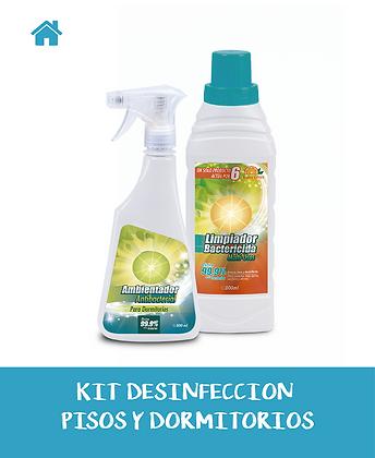 KIT Desinfección PISOS+DORMITORIOS