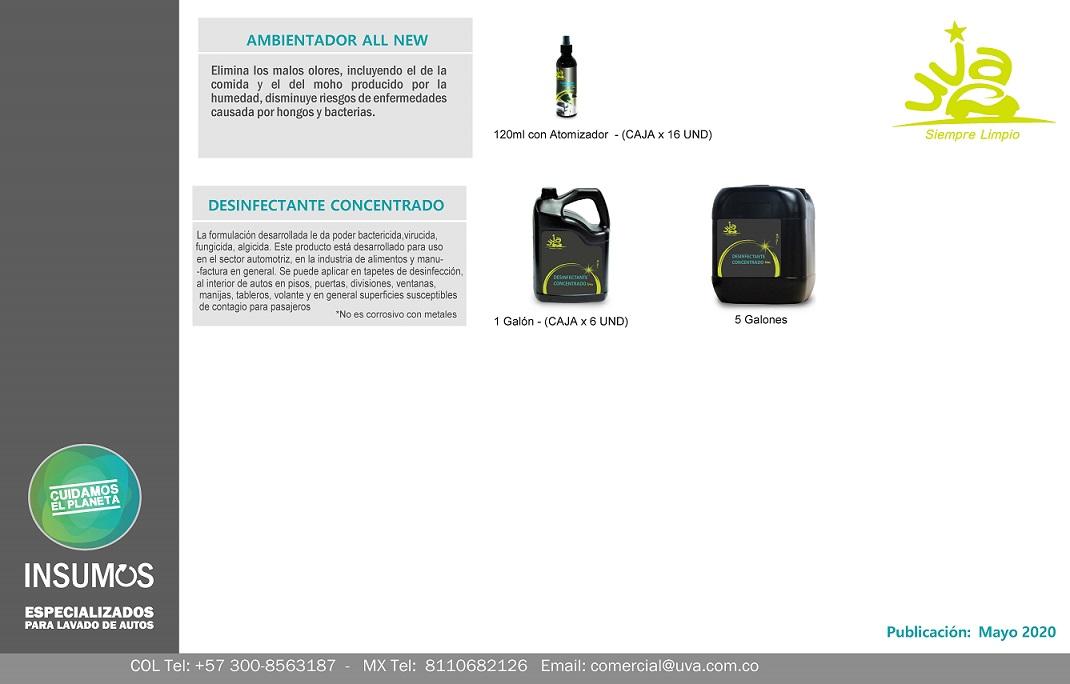 Catálogo UVA 5