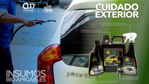 Productos UVA para Lavado Autos