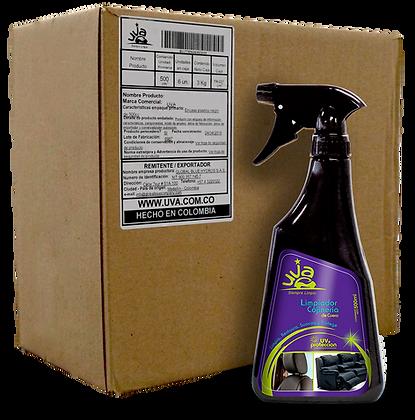Limpiador Cojinería Cuero UVA 500ml - (CAJA x 6 und)