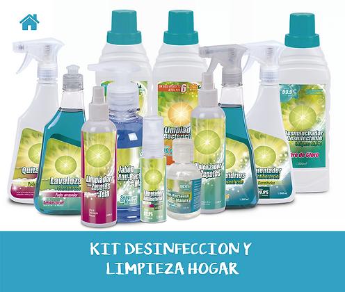 KIT Desinfección y Limpieza HOGAR