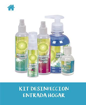 KIT Desinfección ENTRADA HOGAR