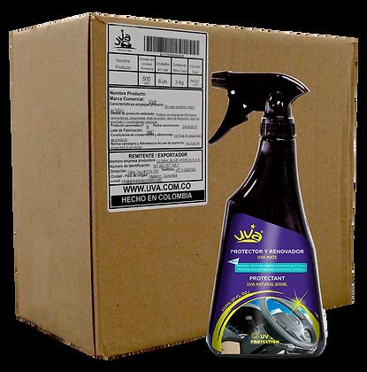 Protector y Renovador Plásticos UVA 500ml - (CAJA x 6 und)