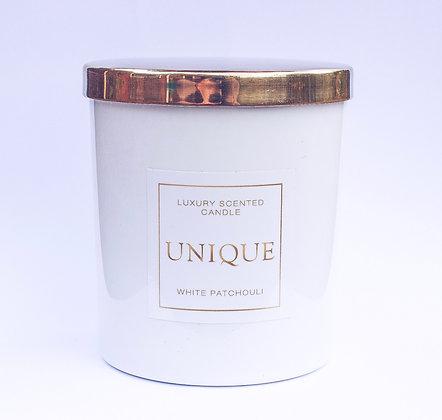Unique Luxury 'White Patchouli' Candle