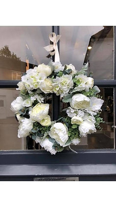 Elegance Faux Wreath