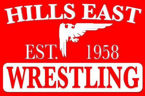 Hills East Wrestling Magnet