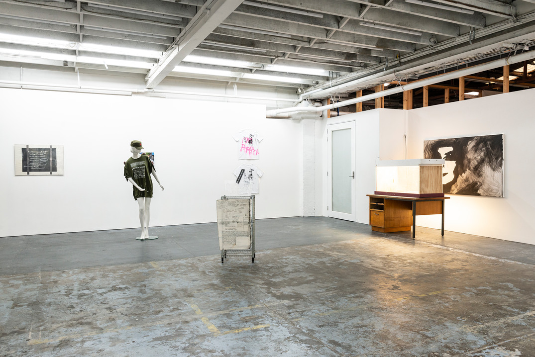 there's no art in heaven (installation view)