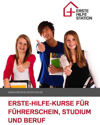 Erste-Hilfe-Handbuch für den Alltag, DIN A5, 47 S. viele Abb., Versand kostenlos