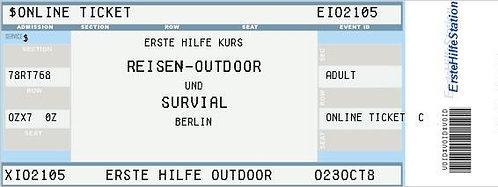 """31.05. - Erste Hilfe Kurs """"Outdoor"""" 17:00 – 21:00 Uhr / Friedländer-Schule"""