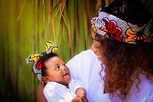 Baby Wedding Flower Headwrap