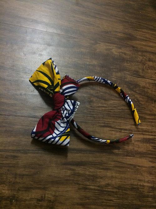 Wedding Flowers Fabric Headband