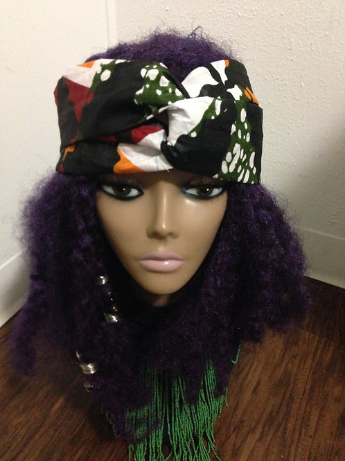 Camo Turban Headwrap
