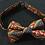 Thumbnail: Orange paisley bow tie