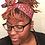 Thumbnail: Purple Paisley Wire Headband