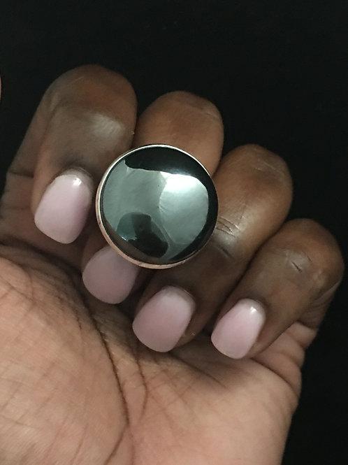 Hematite Cocktail ring