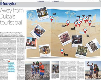 Dubai tourist trail