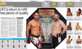 UFC in the UAE